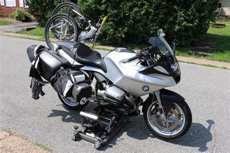 Bmw Golf Bag by Golf Bag Mount For Bmw R1100s By Paul Cagna Two