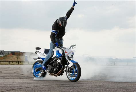 Bmw's New Stunt Rider In Action At Goodwood This Weekend