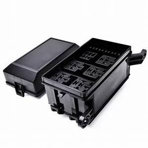 An Automotive Fuse Box Generates : vehicle accessories amazon car accessories fuse relay box ~ A.2002-acura-tl-radio.info Haus und Dekorationen