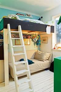 Jugendzimmer Mit Hochbett Gestalten : jugendzimmer hochbett mit sofa ~ Bigdaddyawards.com Haus und Dekorationen