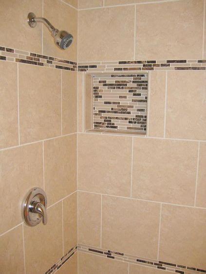 shower tile installation   porcelain