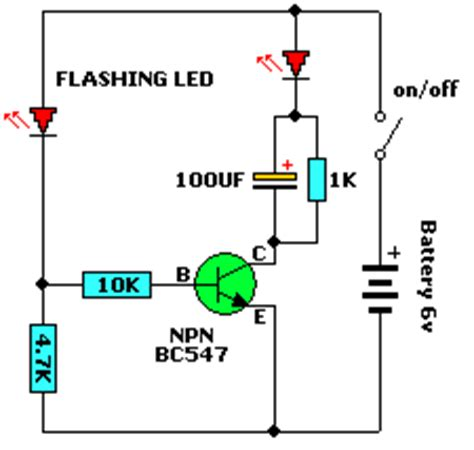Led Flasher Joule Thief Electronics Lab