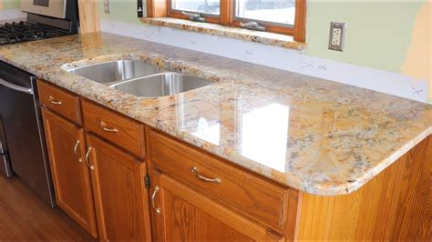 kitchen update part  installing  granite countertops
