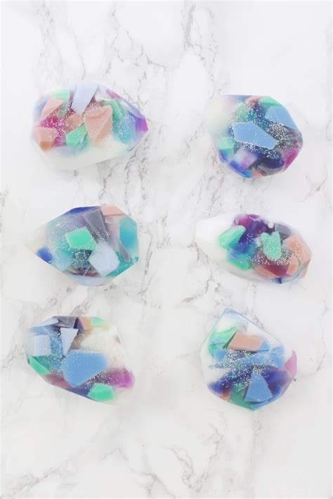interior home decor ideas gemstone soap diy two ways a beautiful mess