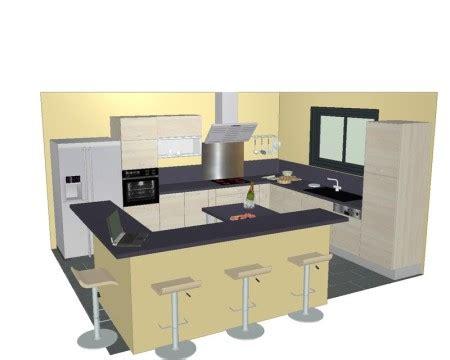 photo de cuisine ouverte avec ilot central plan de cuisine avec ilot central plan de cuisine avec