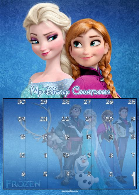 day disney countdown calendars thedibb