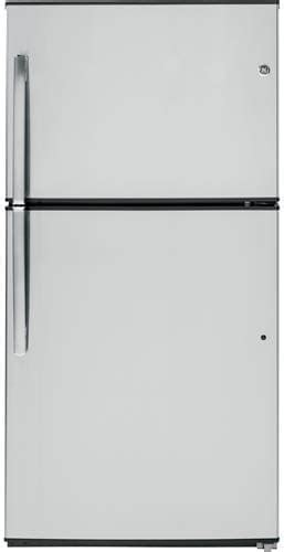ge giegshss top freezer refrigerator cu ft