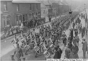 WW1 US Soldiers Marching