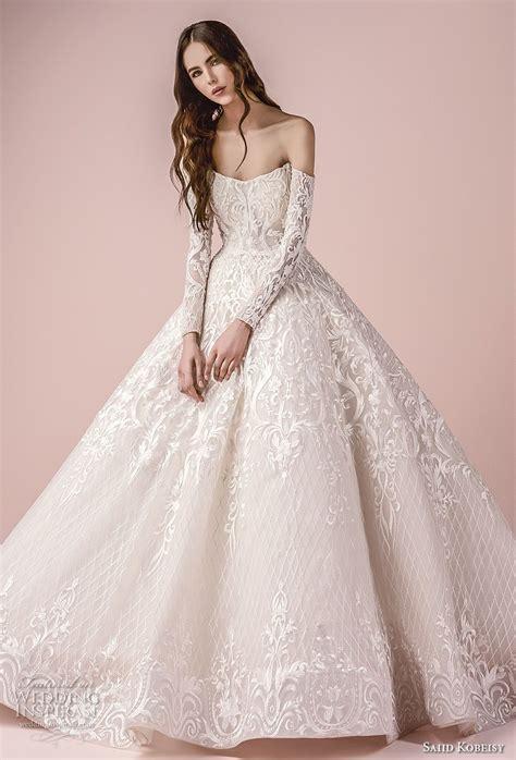 Saiid Kobeisy 2018 Wedding Dresses Ball Gowns Bodice