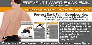 Amazon Com  Prevent Back Pain  Exercises For A Correct