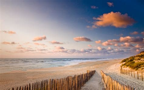 Pretty Beach Way Fence Ocean Wallpapers  Pretty Beach Way