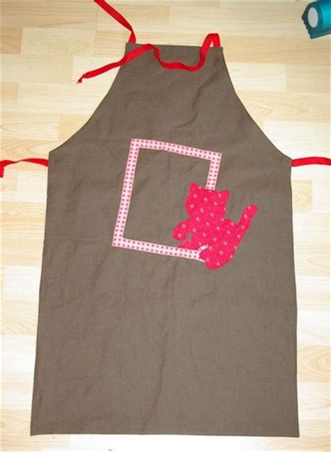 couture tablier de cuisine modele couture tablier