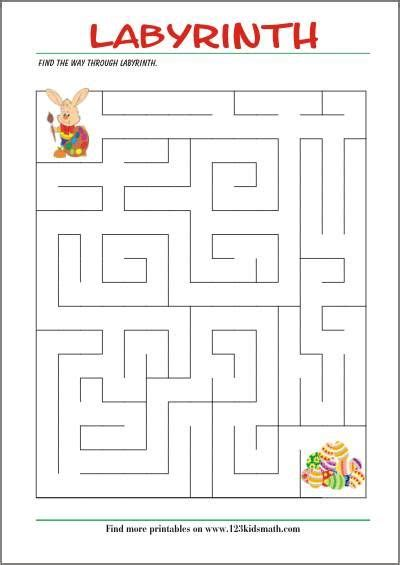 labyrinth find the way free printable pages for smile mazes for mazes for