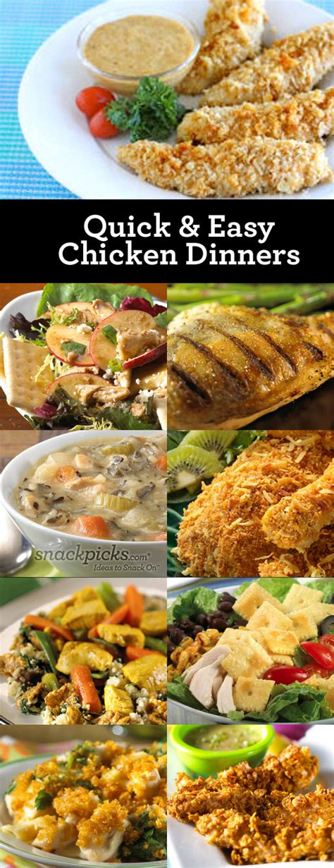 easy dinner recipes with chicken 9 easy chicken dinner recipes pinpoint
