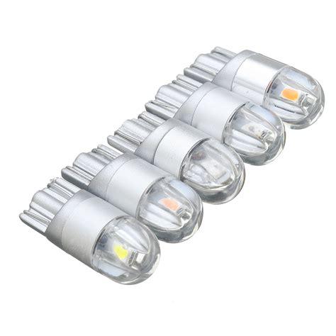 12v t10 168 194 5w led bulbs car interior reading light