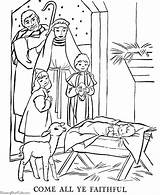 Coloring Pages Advent Printables Printable Christmas Holy Children Story Nativity Advent3 Manger Jesus sketch template