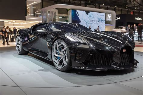 Unveiled at the 2019 geneva motor show it joins the divo as a derivative from (.) top speed. Bugatti La Voiture Noire - Wikipedia