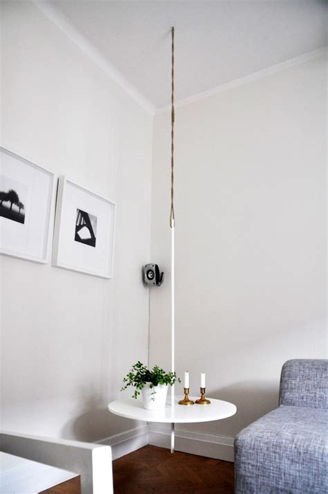 amazing diy hanging table ideas