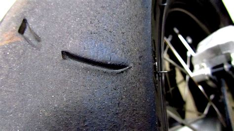 Unusual Tire Wear Pattern