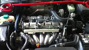 First Start After Swapping In  U0026 39 00 V70r Engine