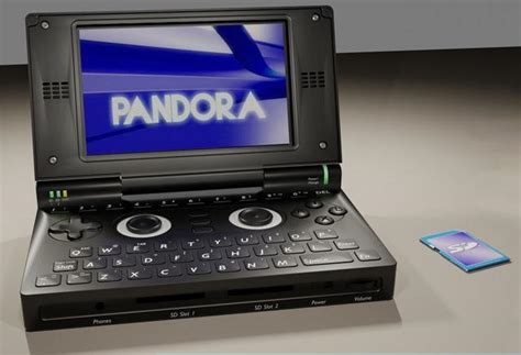 Open Source Handheld Console by Pandora Console Portable Open Source Paperblog