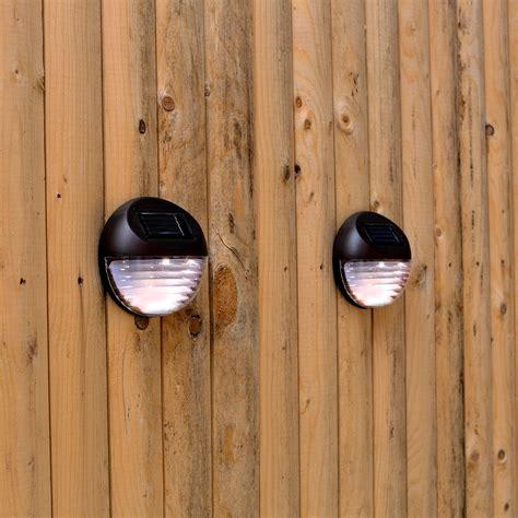 solar lights for fence lights solar lighting landscape brown solar