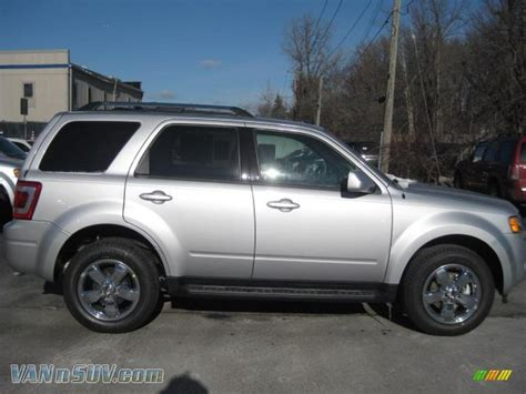 2011 Ford Escape Ltd by 2011 Ford Escape Limited 4wd In Ingot Silver Metallic