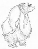 Bear Cartoon Country Bears Sketches Character Drawing Jamboree Animals Drawings Animal Sketch Land Draw Merghart Jeff Animata Baer 1081 References sketch template