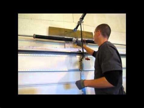 install garage door torsion springs part  youtube