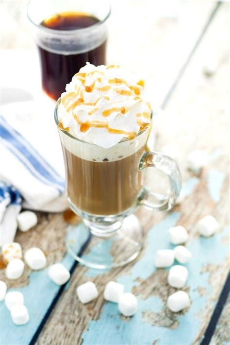Depending on whether or not you like marshmallows, this one will be a hit or a miss. Homemade Caramel Marshmallow Coffee Creamer recipe - Light ...