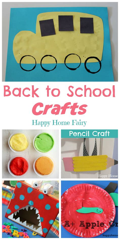 back to school crafts happy home 973 | Back to School Crafts