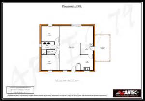 Superficie Minimum Chambre Maison by Plan Maison 2 Chambres Gratuit
