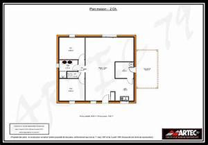 Plan maison 2 chambres gratuit for Plan maison une chambre