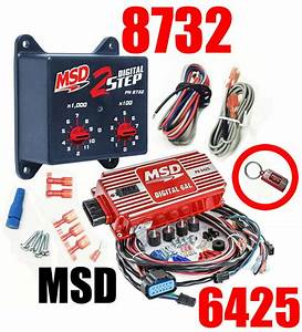 Msd Ignition 6425 Digital 6al Ignition Control With Rev