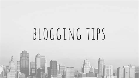 8 Blogging Tips For Authors