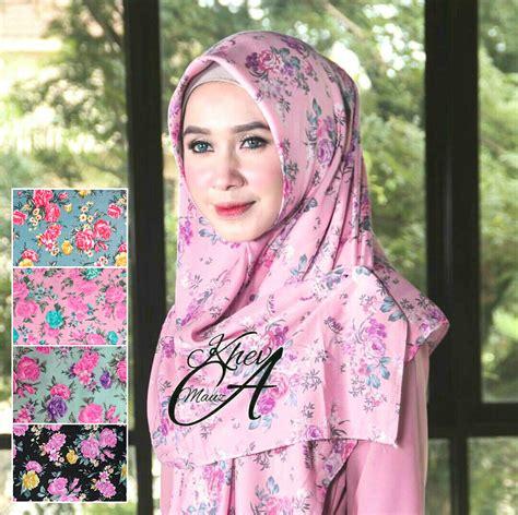 gambar tutorial hijab segi empat kekinian  tutorial hijab