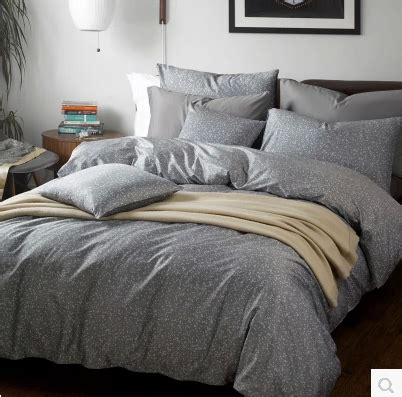 Grey King Size Duvet Cover by 4pcs Five Star Hotel Bedding Set King Size Grey Color