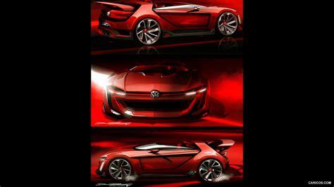 2018 Volkswagen Gti Roadster Concept Design Sketch Hd