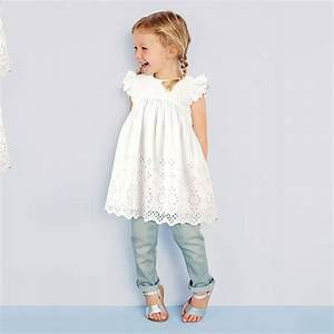 2016 Hot Fashion Baby Girl Lace Dress Infant Princess ...