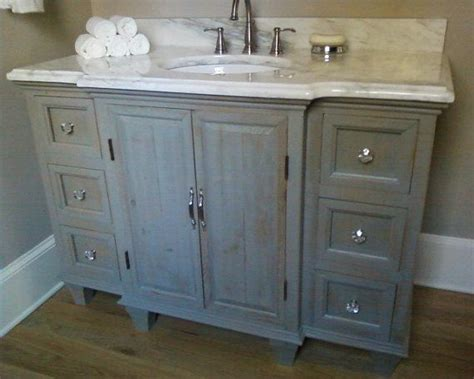 distressed bathroom vanity uk rustic painted bathroom vanity