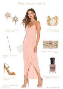 what to wear a wedding dress what to wear to an outdoor july wedding wedding guest 2016