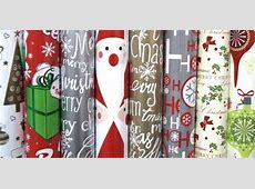 70cm x 3m Christmas Wrapping Paper Assortment