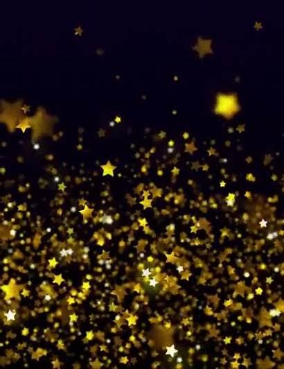 Gifs Glitter Animated Stars Star Gold Instagram