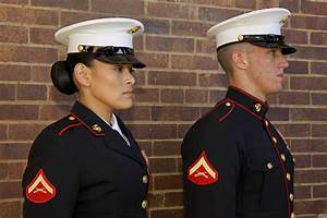 Womens Dress Blues Marines With Simple Picture In ...