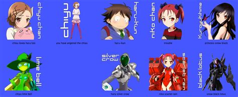 I Made Some Anime Folder Icons Thought Would With You Accel World By Mistergreen1971 On Deviantart
