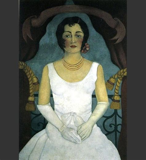 Frida Kahlo Paintings; Portrait Of Lupe Marin Painting