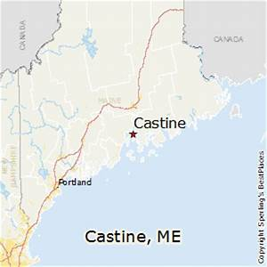 Comparison: Castine, Maine - Camarillo, California