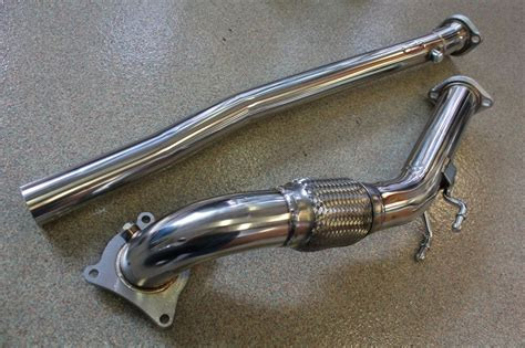 golf 6 gti downpipe 10 14 vw golf gti ccta 2 0t mk6 turbo downpipe performance pipe mkvi tfsi ebay