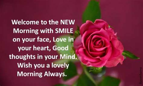 good morning quotes good thoughts  morning smile