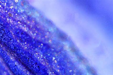 Schimmernd Blau Glitter Bild auf Leinwand / Acrylglas ...